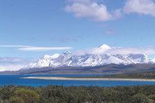 Die Anden in Chile © B. Schneevogt